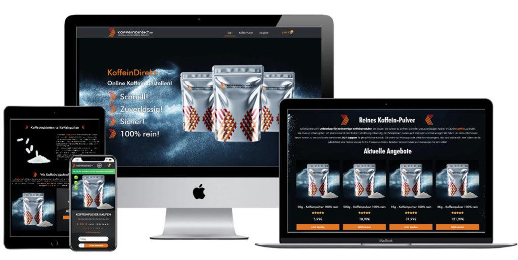 Koffeindirekt-Webdesign Agentur VanBruda